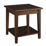 Westlake End Table, with Shelf