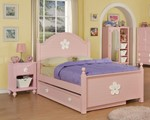 2pc Kids Bedroom Set w/Twin Trundle Bed