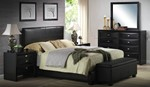 2pc Master Bedroom Set W/King Bed