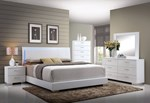 2pc Bedroom Set w/Queen Bed (HB w/LED)