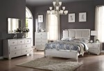 2pc Bedroom Set w/Queen Bed (Padded HB)
