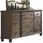ACME Baudouin Dresser, Weathered Oak