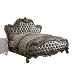 Silver Cal King Bed HB/FB/R