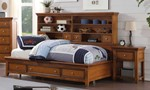 2pc Bedroom Set w/Twin Storage Daybed