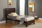 West Haven Twin Bed, Cappuccino