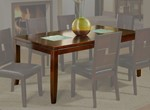 Lakeport Extension Dining Table, Espresso