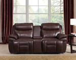 Power (HR) Reclining Console Loveseat
