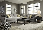 Sectional w/LAF Corner Chaise & Ottoman