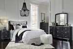 2pc Bedroom Set w/Queen Headboard