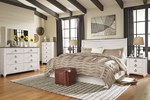 2pc Bedroom Set w/Queen/Full Headboard