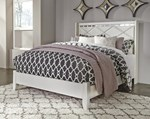 Queen Panel Footboard w/Rails