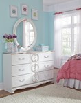 Korabella Traditional Classics White Dresser And Mirror The Classy Home