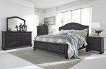 2pc Bedroom Set w/Queen Storage Panel Bed