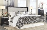 2pc Bedroom Set w/King Panel Headboard