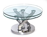 Contemporary Motion Cocktail Table Top