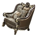 Cosmos Furniture Monica Traditional Style Chair in Cherry finish Wood