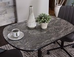 Oval Magna Laminate Table Top