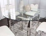 Round 10mm Clear Glass Table Top