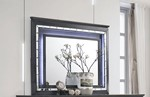 Beveled Mirror With LED Touch Lighting