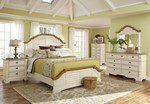 2pc Bedroom Set w/King Bed