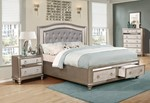 2pc Bedroom Set w/Cal King Drawer Bed