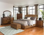 2pc Bedroom Set w/Natural Queen Bed