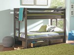 Twin/Twin Bunk Bed w/Underbed Storage