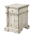 Olivia One Drawer One Door Chairside Table