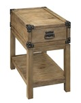 Carmel One Drawer Chairside Table