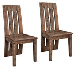 Set of 2 Brownstone Dining Chairs