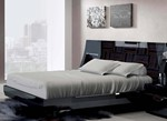 Queen Bed with Slat Frame