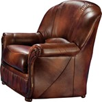 Monica Armchair in Full Leather