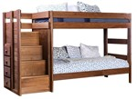 Twin/Twin Bunk Bed (Slats Or Bunkie Board Required)