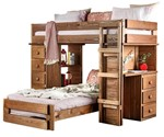 T/T Loft Bed (*Slats or Bunkie Board Required)