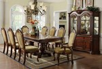Formal Dining Table w/ Double Pedestals
