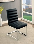 Side Chair (2/Ctn), Black