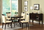Table + 4 Side Chairs