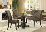 Round Table + 2 Chair + Round Bench