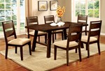 Table + 6 Side Chairs