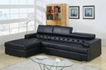 Sectional, Black