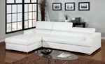 Sectional, White