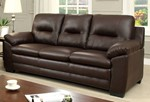 Sofa, Brown Pu
