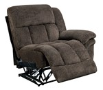 One arm left recliner chair