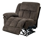 One arm right recliner chair