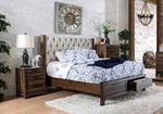 2pc Bedroom Set w/Queen Drawers Bed
