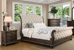 2pc Bedroom Set w/Cal King Bed