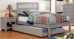 2pc Kids Bedroom Set with Full Trundle Bed