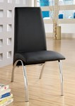 Side Chair, Black (2/ctn)