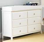 RTA Double Dresser with Dressing Kit