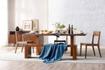 6pc Dining Room Set w/84 Inch Dining Table